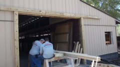 Golden Oaks Barn Office - horse stall 1